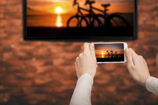 Handy Bildschirm auf TV übertragen - Miracast