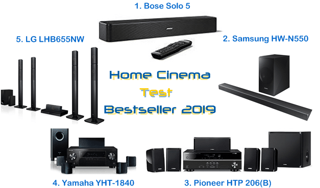 Home Cinema Test 2019 Bestseller