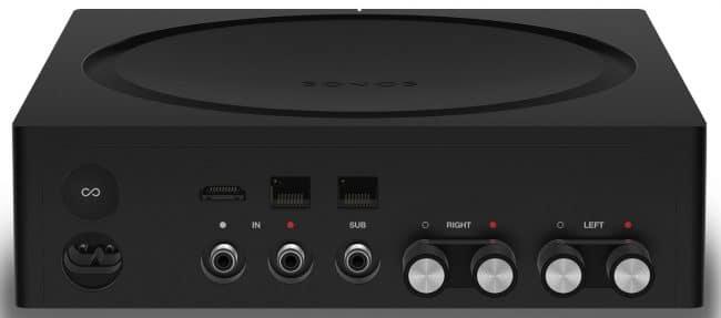 Sonos Amp Test - Ansicht von hinten
