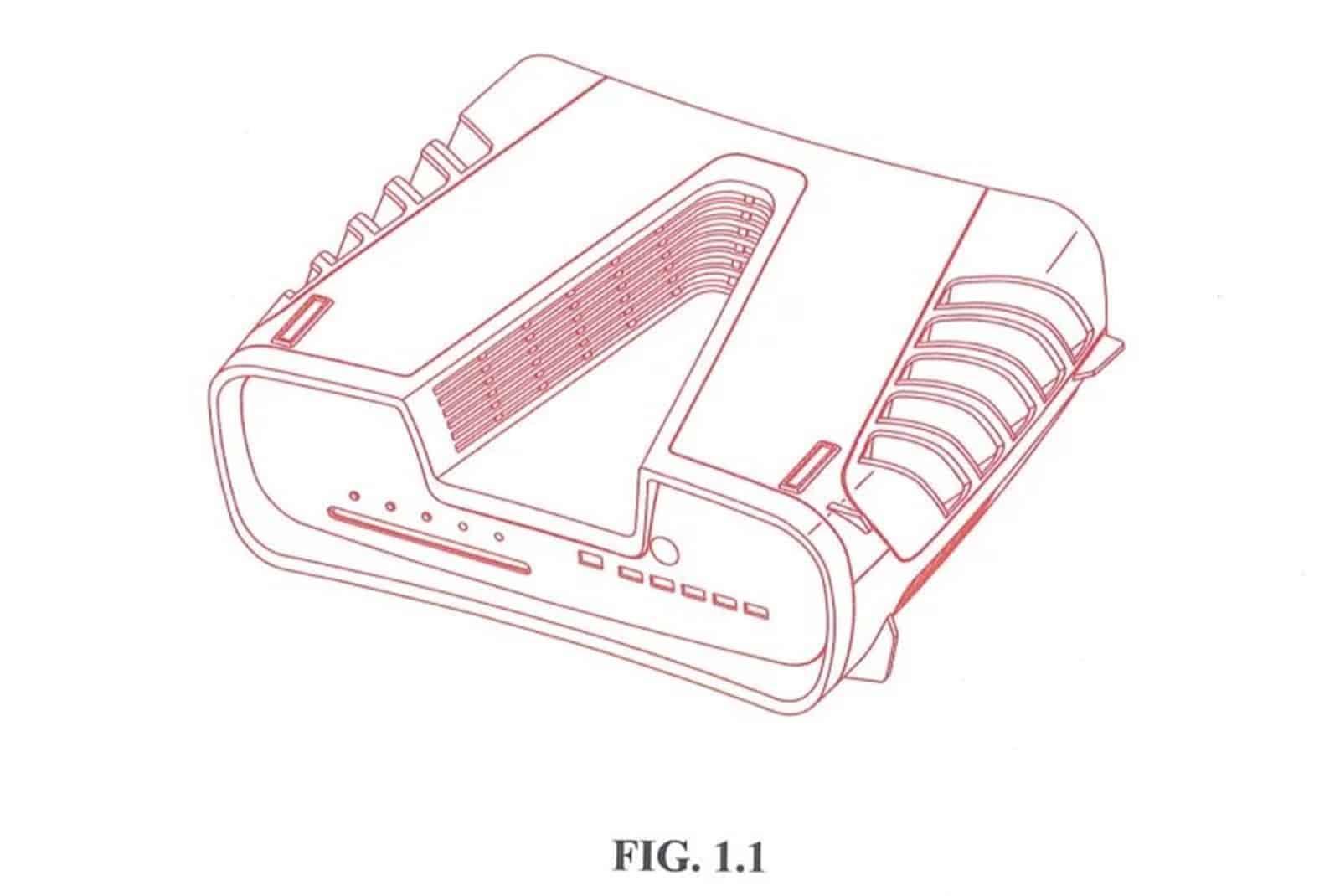 PS5 Patent Bild PS5 vs Xbox Series X